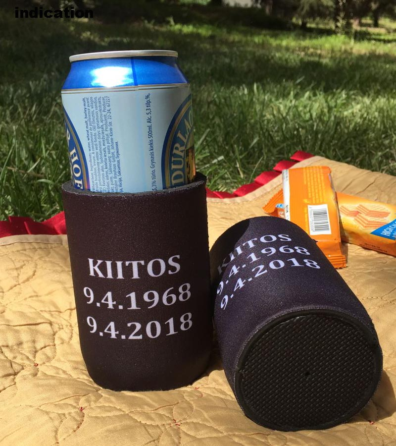 150pcs/lot Custom Stubby Holder Neoprene Beer Bottle Cooler For Bars Thermos Insulated Bag Waterproof Ice Packs Beer Can Cover