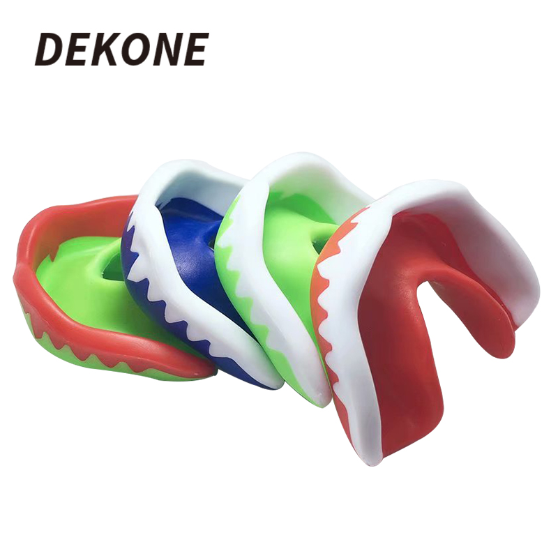 Mouth Guard Adult Four Color Non-Toxic Reusable Suit For Boxing Hockey Football High Quality EVA Mouth Protector