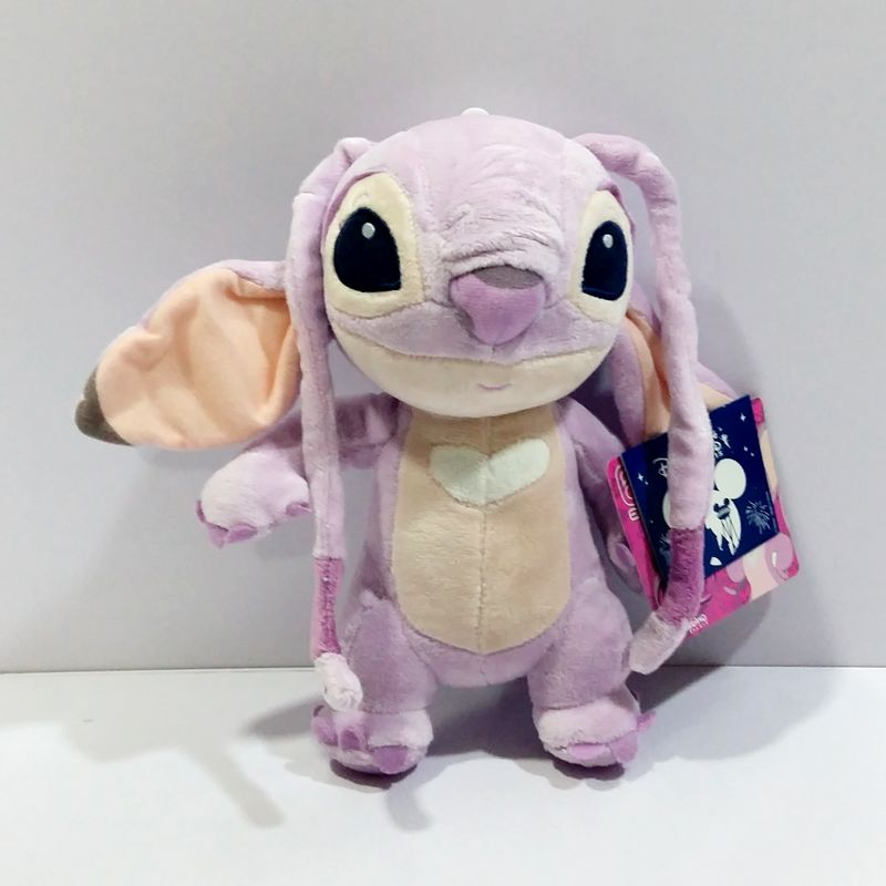 cm lilo y stitch juguetes originales ngel de la felpa mueca de juguete para el