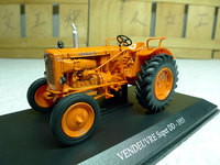 French UH Universal Hobbies 1 43 VENDEUVRE Super DD 1955 Vintage Tractor Models Alloy Agricultural Vehicle