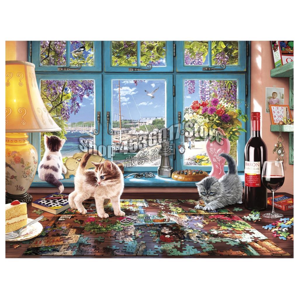 Puzzler's Desk diy diamond mosaic picture rhinestones embroidery kits diamond painting cross stitch Design & Decor dog and Cat