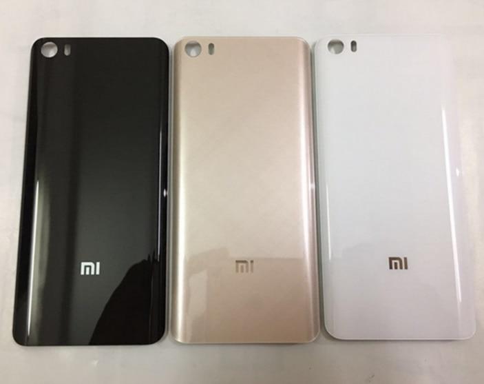 Dorigine 3D En Verre Avec Logo De Couverture Arriere Pour Xiaomi Mi5 515 Pouces Logement Panneau Batterie Porte Mi 5 Retour