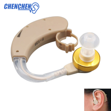 2018 Newest Adjustable BTE hearing aid behind the ear Hearing Amplifier ear care tool best sound