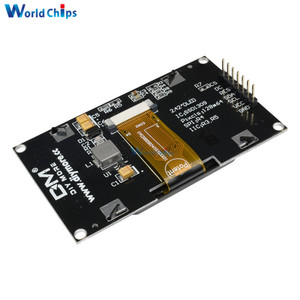 """Image 5 - 2.42"""" inch LCD Screen 12864 128X64 OLED Display Module IIC I2C SPI Serial C51 STM32 SSD1309 for Arduino White/Blue/Green/Yellow"""