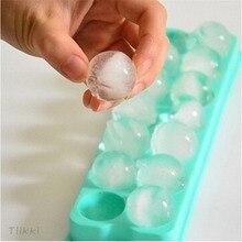 Пластиковые формы лоток для льда 14 Сетки 3D круглые формы для льда домашний бар вечерние круглые шарики производители кубиков льда Кухня DIY формы для мороженого