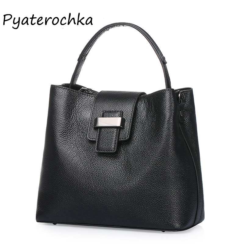 Women Genuine Leather Small Handbag Black Fashion Bag High Quality Shoulder Bags For Women 2018 Leather Handbags Famous Brands jiasna new women shoulder bags versatile european and american style genuine leather high quality solid famous brands handbag