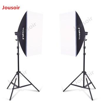 Flexible light box 2 lamp set photography light flexible light box shooting equipment CD15