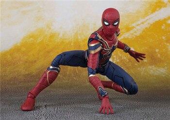 Фигурка Человек Паук Мстители: Война бесконечности 14 см 1