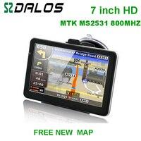 7 Inch HD Car GPS Navigator 800M FM 4GB 128MB New Maps For Europe USA Canada