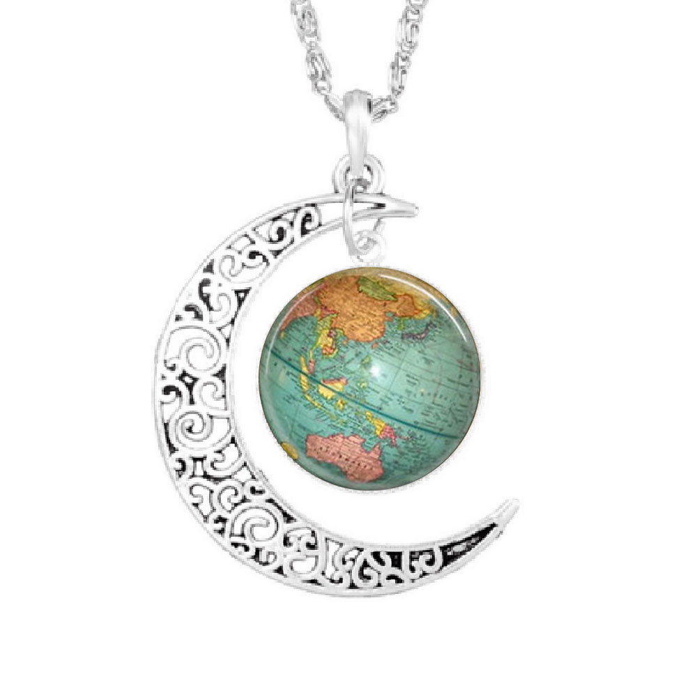 collier homme terre