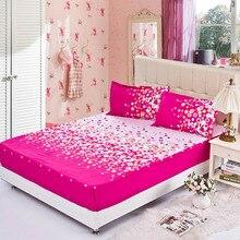 Spannbetttuch elastische matratze abdeckung blenden farbe rot bett tuch/rock kissenbezug bettdecke flachblech kissenbezug 3 teile/satz