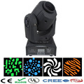 10w led gobo projector/mini led spot moving head rotating light/10W LED disco dj lighting/Xmas light