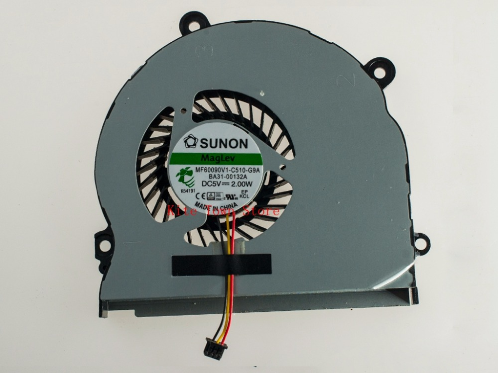 Laptop Cpu Cooling Fan for Samsung  NP-350 NP-350V NP350V5c NP-355 NP-355E NP-355E4C-S05CN  MF60090V1-C510-G9A yinweitai cpu cooling fan for samsung sp p300m b4510l05d2 bb oc sp l350w p300m mcf s4510am05 s projector fan