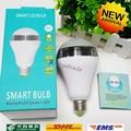 12W E27 RGB Smart phone control Bluetooth Led Speaker Light  LED Bulb Lamp Spotlight AC 85-265V free shipping