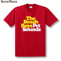 New 2014 Free Shipping The Beach Boys Pet Sounds Albumn Baroque Pop Psychedelic Rock Couple Clothes