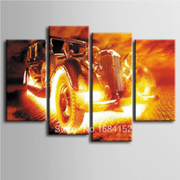 4 pcs/set,5D Diamond Painting car pattern Full square Drill Pasted Cross Stitch kits Abstract Mosaic Pictures Home Decorative
