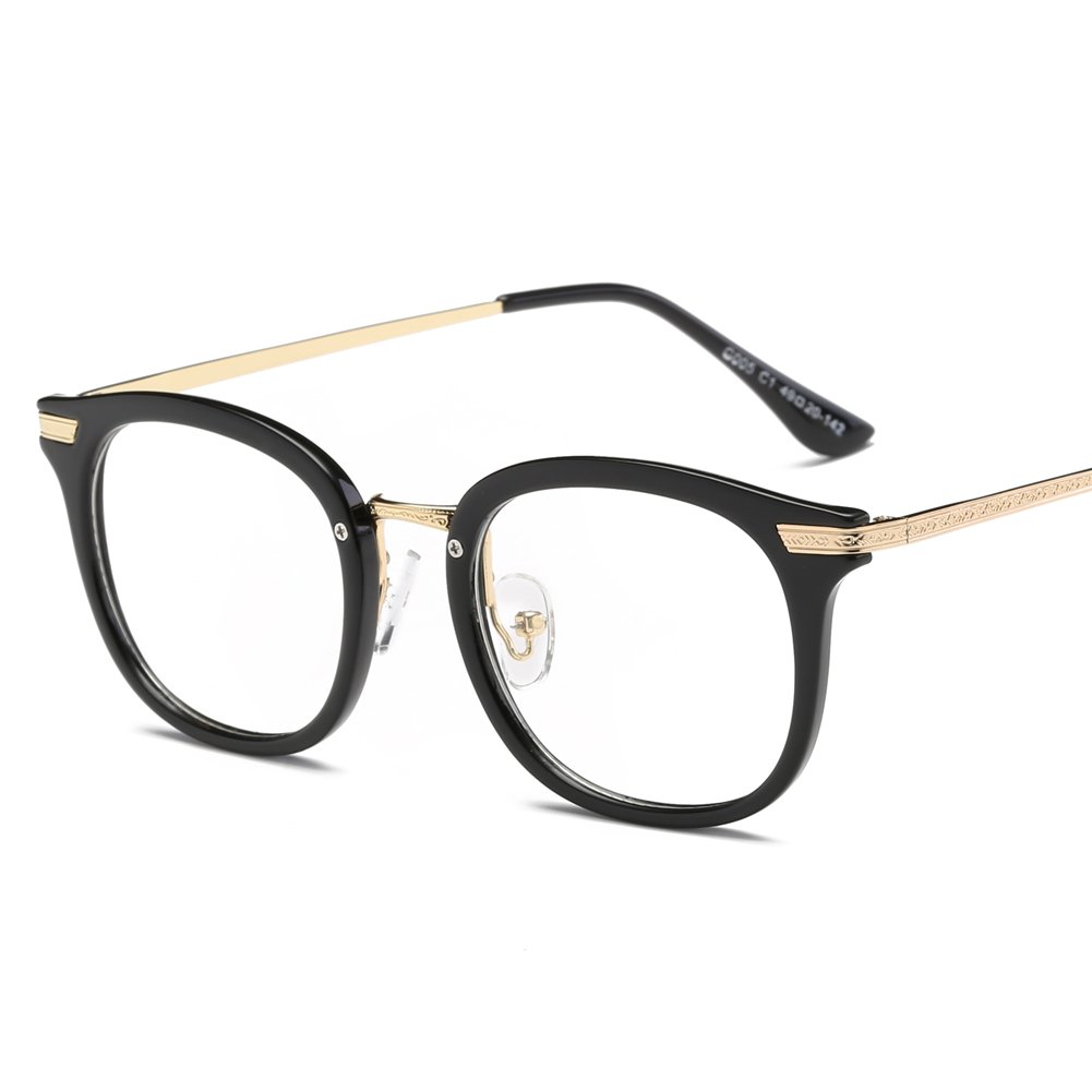 Fashion Brand Prescription Eyeglasses Frames With Clear Lenses Round ...