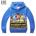 Kids sport clothes Children's t-shirt Five Nights at Freddys baby Boys clothes Long sleeve Autumn style Cartoon Hoodies 2016 New