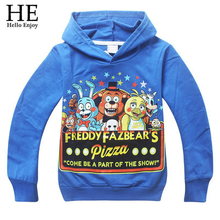 Kids sport clothes Children s t shirt Five Nights at Freddys baby Boys clothes Long sleeve