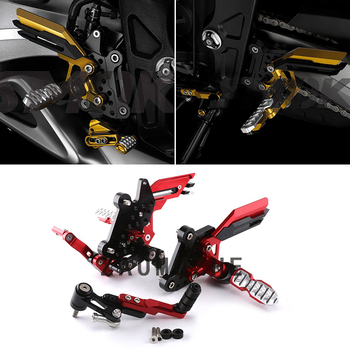 For Honda CB650F 2014-2017 Motorcycle Accessories CNC Aluminum Alloy Adjustable Rear Sets Rearset Footrest Foot Rests Pegs