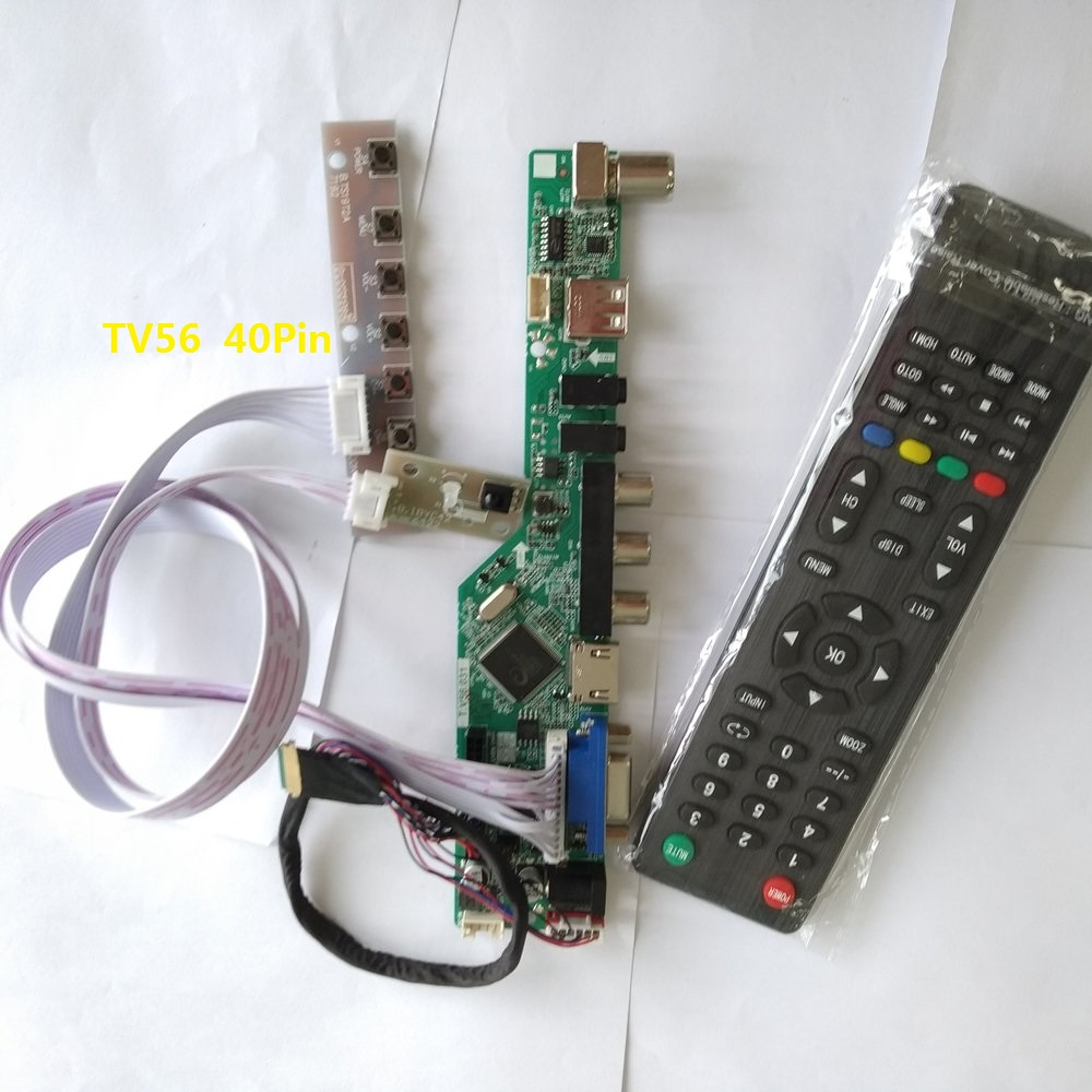 Kit for N156B3-L0B TV+HDMI+VGA+USB LCD LED screen Controller Driver Board