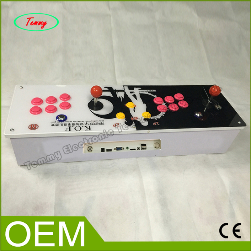 Arcade Games Console Kit with game board 645 in 1 Jamma Multi Games PCB Controller and Double Arcade Joystick patriot gp 3810le