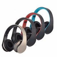 BT-81 Heaphone Składany EDR Słuchawki Przewodowe Bezprzewodowe Stereo Bluetooth Headset Mic MP3 FM dla Telefonów Tablet PC