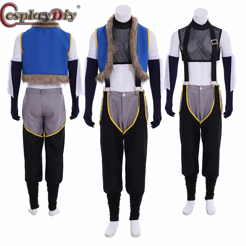 Cosplaydiy Fairy Tail Cosplay Sting Eucliffe Men Costume Uniform Full Suit Halloween Carnival Costumes Custom Made
