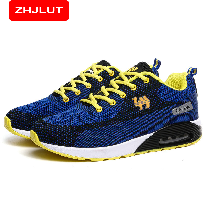 ФОТО ZHJLUT Men's Sport Running Shoes Men's Walking Shoes Breathable Mesh Outdoor Athletic Shoes Light Male Shoes Sneakers Women 507