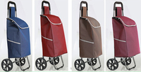 Manufacturers Supermarket The Shopping Basket Folding Hand Pulled Trolley Luggage Shopping Cart