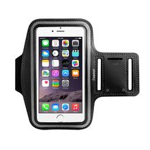 Insten 5.5″ Phone Armband with Key Holder for iPhone 8 Plus Samsung HTC LG Case Sportband Arm Band Belt Cover Running GYM Bag