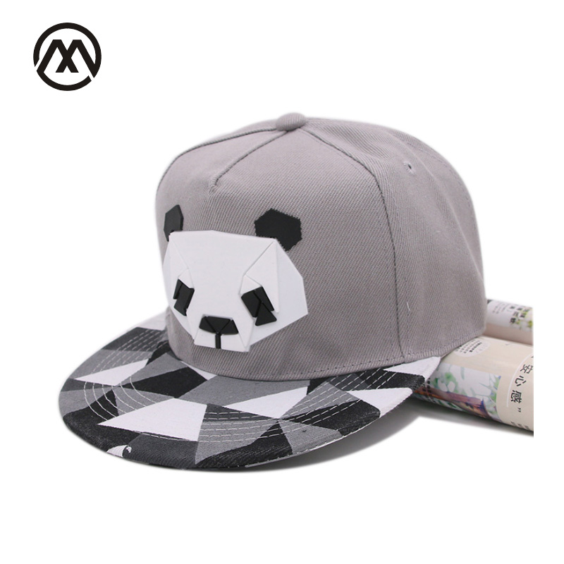fashion spring and autumn Plastic chapter baseball cap hip-hop hat male Ms. cute panda zebra rubber hatsnapback Flat-brimmed hat cd bruce springsteen chapter and verse