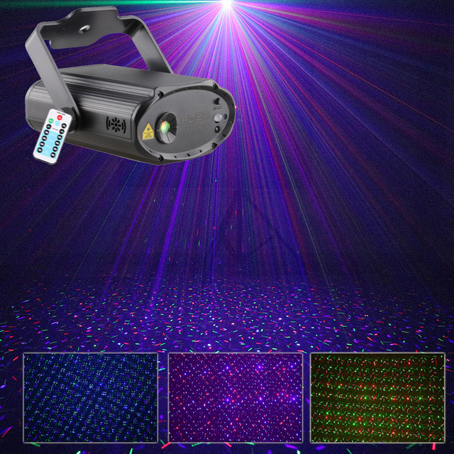 Alien Rgb Firefly Mini Laser Lights For Home Usb Ed Portable Indoor Outdoor Show Motion