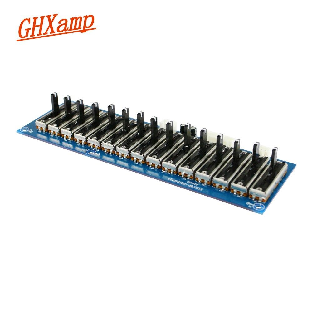 EQ Equalizador GHXAMP Placa Tom Amplificador Estágio Profissional 5/10/15 Estrada Amplificador Estéreo 35 HZ de Frequência Ajustável HZ-20 70 KHZ