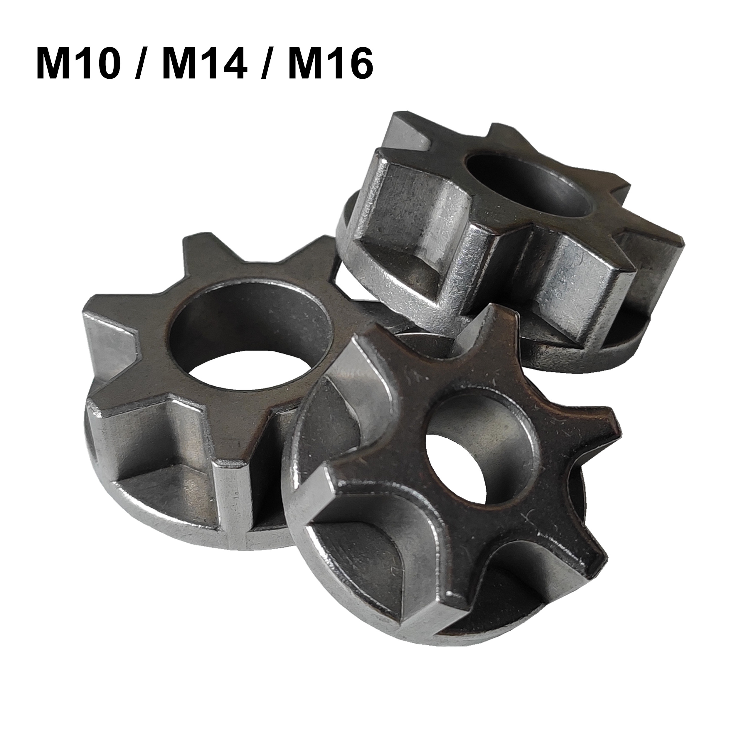M10/M14/M16 Chainsaw Gear 100 115 125 150 180 Angle Grinder Replacement Gear Chainsaw Bracket Asterisk Power Tool Accessories