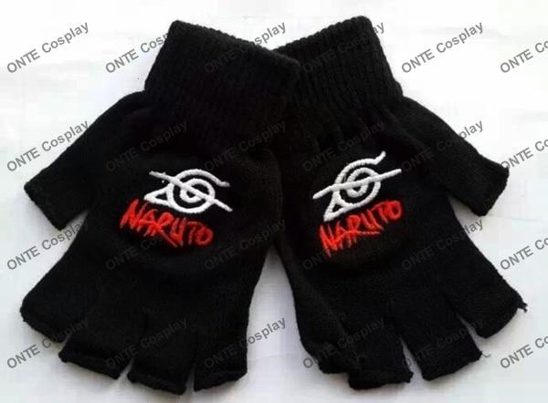 Classic Naruto logo gloves