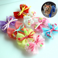 10pcs of Lovely Yorkie hair bows / pins