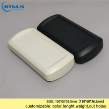 Handheld plastic box for electronic project diy instrument case small enclosure abs control  junction 130*60*26.5mm
