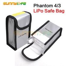 Lipo Battery Safe Bag Безопасности Карманный Защитная Сумка для DJI Phantom 4 pro и Phantom 4 PRO + Phantom 3 Липо Мешок