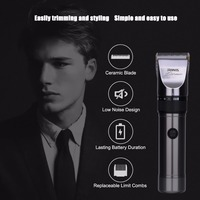 RIWA Professional 3 In 1 Multifunction Rechargeable IPX7 Waterproof Hair Trimmer Clipper Haircut Kit Shaving