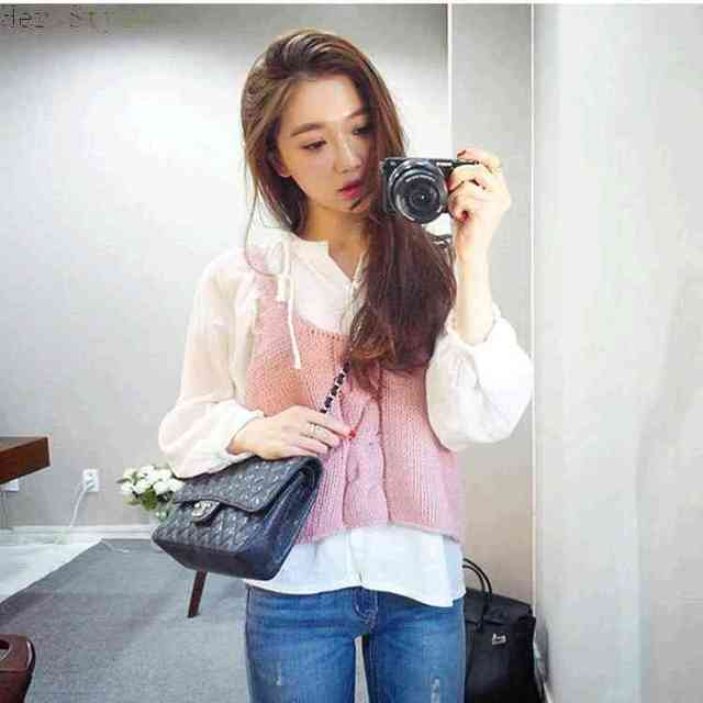 Free Shipping Fall Fashions New College Vests Sweaters Girl