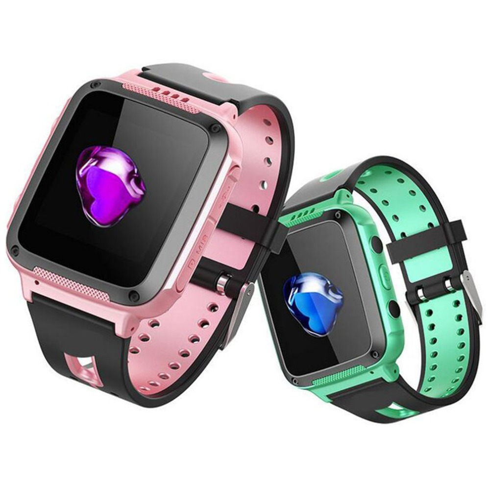 Top V6 Children Smart Watch With Camera Emergency Security Anti Lost SOS Waterproof Safe Baby Wrist Watch For IOS Android Phone espanson gps tracker children security anti lost smart watch with camera kid sos emergency for ios android waterproof baby watch