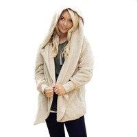 Women S Winter Cardigans Coat Female Jacket For Women Thicken Khaki Grey Black Plus Size Jackets