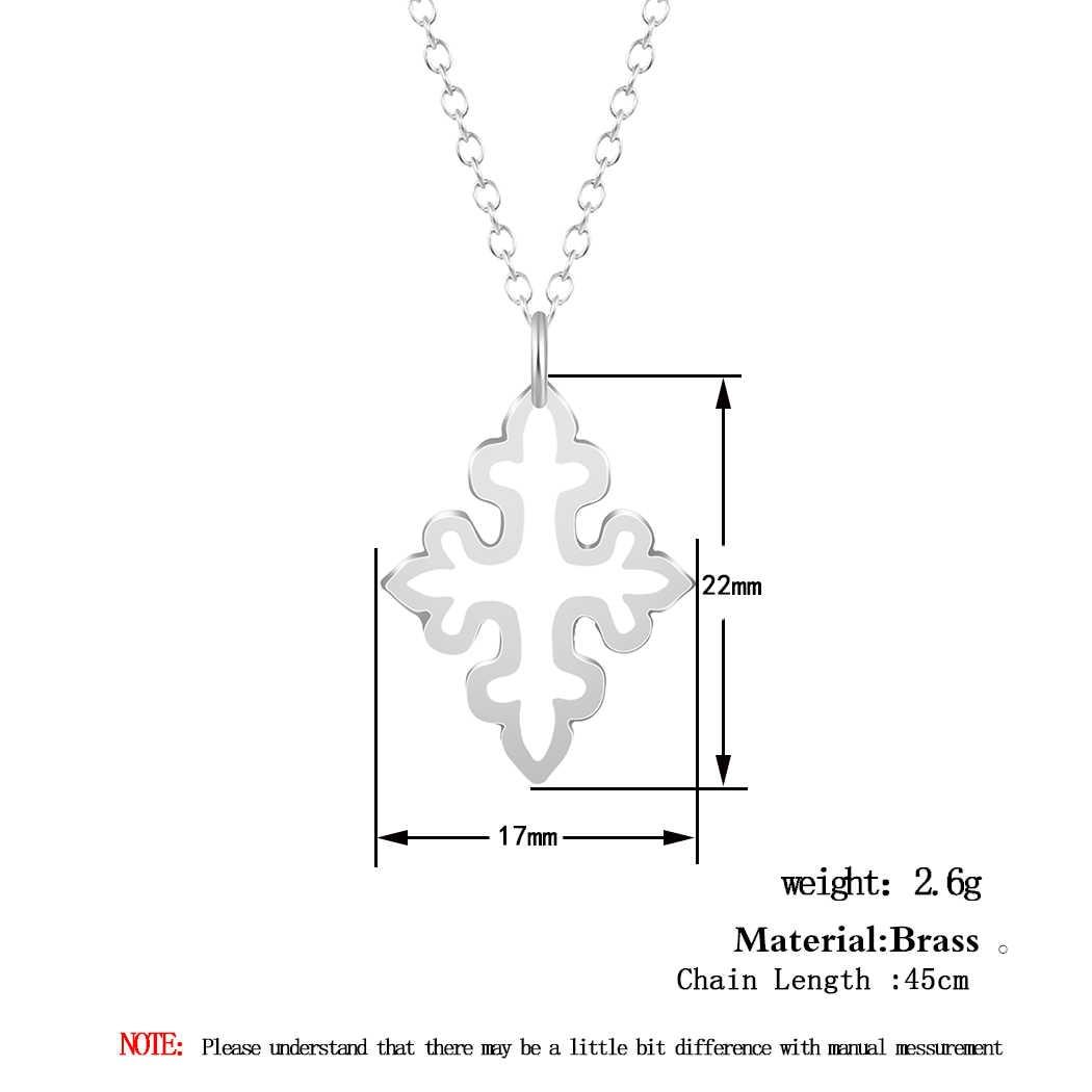 Cxwind 12 סגנונות תכשיטים נשים תליון שרשרת כלב כוכב שמש צבי Unicorn בעלי החיים גיאומטרי קסם עצם הבריח שרשרות צווארון