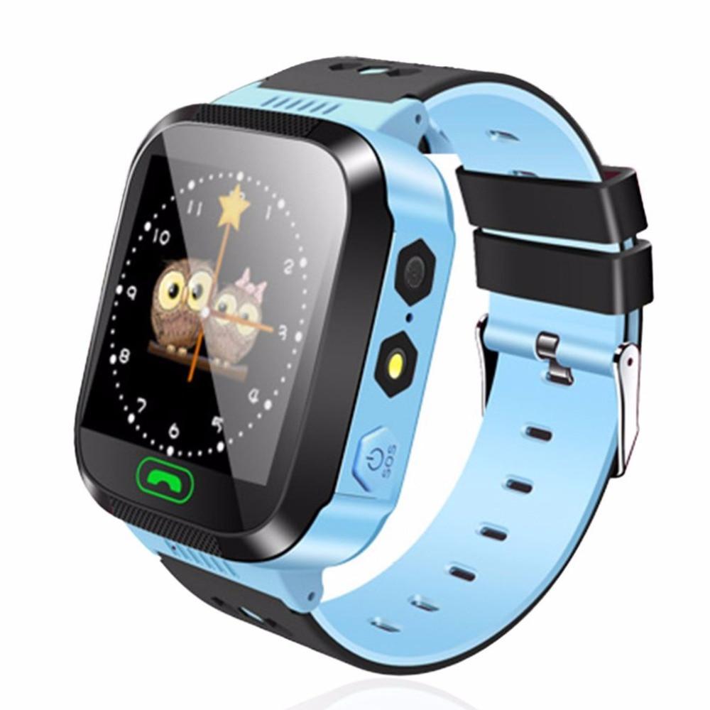 Y03 Смарт-часы детские наручные часы Сенсорный экран GPRS трекер анти-потерянный SmartWatch маленьких Детская безопасность часы с удаленного Камера SIM