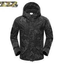Winter Men's Military Camouflage Fleece Jacket Army Tactical Clothing Man Camouflage Jackets Outdoor Male Warm Tactical Jackets(China)