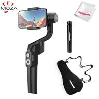 Moza Mini S Mini S Foldable Pocket Sized 3 Axis Handheld Gimbal Stabilizer for iPhone XS Max GoPro VS Mini Mi Smooth 4 Vimble 2