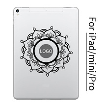 Mandala Flower Tablet PC Vinyl Sticker for Apple iPad Decal Air Pro Mini 7.9/9.7/10.5/12.9 inch Art Laptop Skin Macbook Sticker