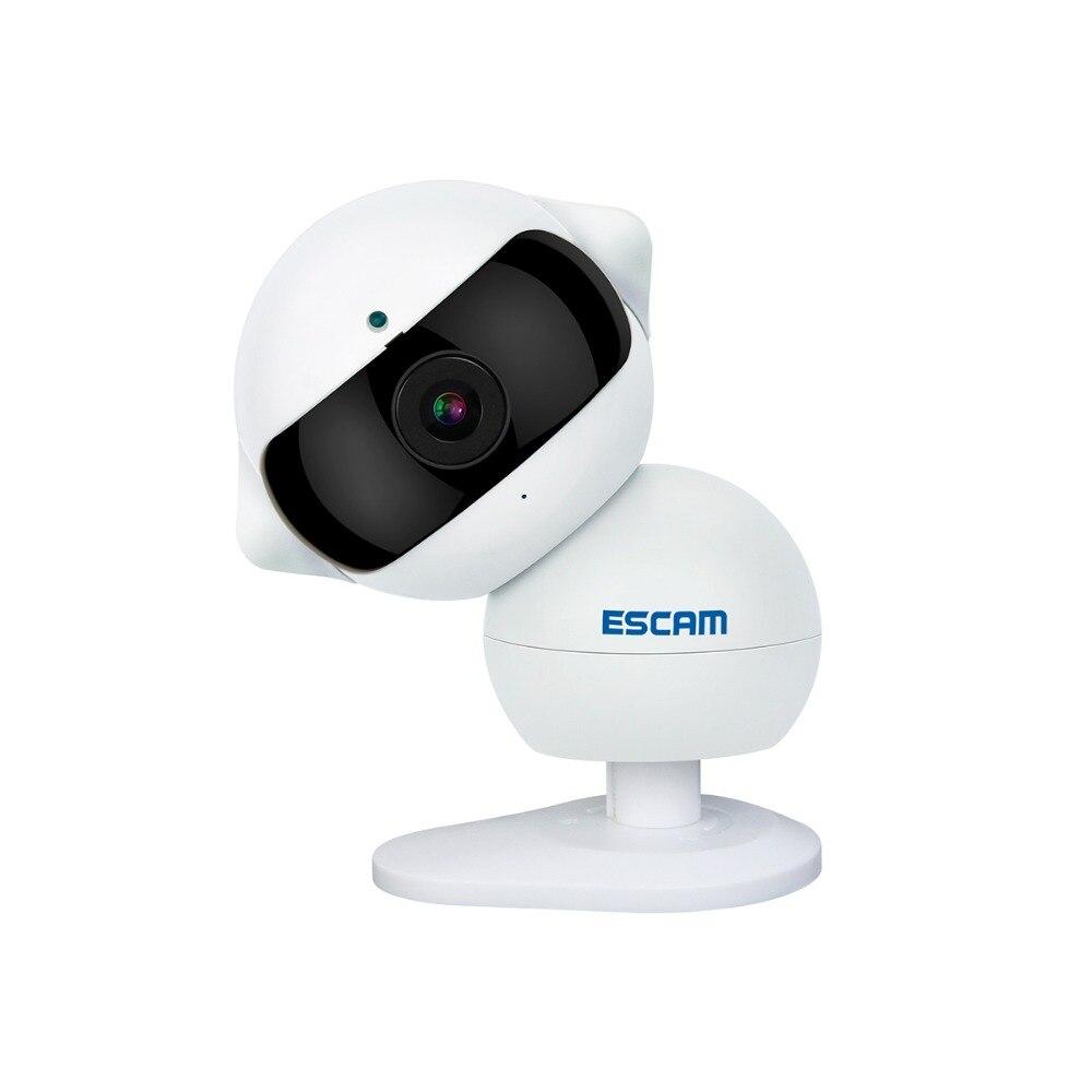 Escam Elf QF200 Wifi Mini IP Camera 1.3MP HD 960P Onvif P2P indoor Surveillance Night Vision Security CCTV Camera escam elf qf200 wifi mini ip camera 1 3mp hd 960p onvif p2p indoor surveillance night vision security cctv camera 32gb tf card