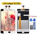 Для Leagoo T5 T5C ЖК-дисплей и сенсорный экран в сборе для Leagoo T5 T5C 100% Протестировано с бесплатными инструментами